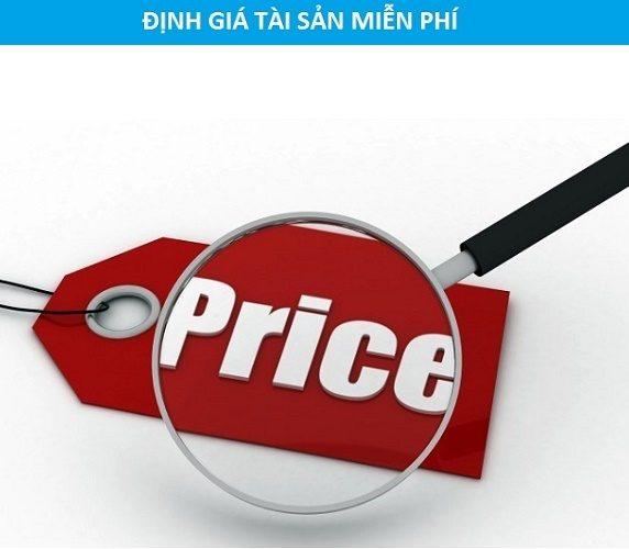 định giá tài sản miễn phí